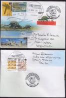 Argentina - 2018 - Lettre - Dinosaure Découvert En Antarctique (Antarctopelta Oliveroi) - Stamps