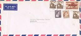 30685. Carta Aerea MELBORNE (Australia) 1963 To Suisse - 1952-65 Elizabeth II: Ediciones Pre-Decimales