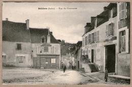 36 / BÉLÂBRE - Rue Du Commerce - Epicerie Centrale, Hôtel De L'Ecu (petite Animation) - écrite En 1921 - France