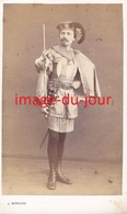 Photo Cdv  Valenciennes Société Des Incas 1868 Costume Carnaval Marche Des Incas Fete Populaire - Anciennes (Av. 1900)