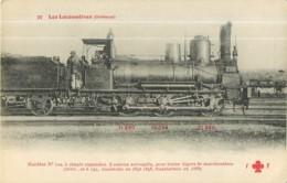 Cie ORLEANS - Machine 729 Pour Trains Légers De Marchandises - Les Locomotives  , Ed. Fleury - 2 Scans - Zubehör
