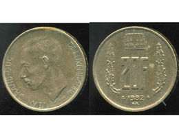LUXEMBOURG  20  Francs 1982 - Luxembourg