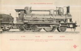 Cie ORLEANS - Machine 103 Pour Trains à Grande Vitesse - Les Locomotives  , Ed. Fleury - 2 Scans - Zubehör