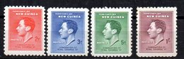 Serie Nº 58/61 Nueva Guinea - Papúa Nueva Guinea