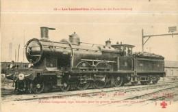 Cie ORLEANS - Machine Atlantic Pour Trains Rapides - Les Locomotives  , Ed. Fleury - 2 Scans - Equipment