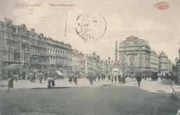 CPA - Belgique - Bruxelles - Brussels - Vieux Bruxelles - La Place Des Bailles - Places, Squares