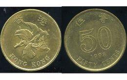 HONG KONG 50 Cents 1998 - Hong Kong