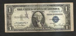 U.S.A. - SILVER CERTIFICATE - 1 DOLLAR (SERIES 1935 D) - Silver Certificates (1928-1957)