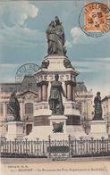 Cp , 90 , BELFORT , Le Monument Des Trois Sièges(oeuvre De Bartholdi) - Belfort - Ville