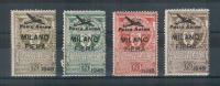 MILANO 1948 MILANO FIERA POSTA AEREA ERRINOFILI - Erinnofilia