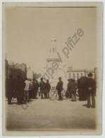 Citrate Circa 1905 . Bordeaux . La Statue De Gambetta Fraîchement érigée . 2 Photos . - Fotos