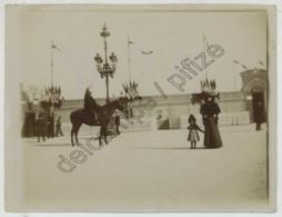 Citrate Circa 1905 . Bordeaux . Dragon à Cheval Lors D'une Fête Ou D'une Foire . - Fotos