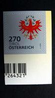 Österreich 3415 **/mnh, Dauerserie 2018: Wappen Tirol - 1945-.... 2ª República