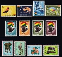 Ghana Assortment - Mint - Ghana (1957-...)