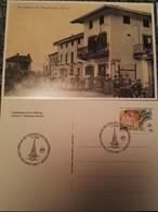 LOTTO DI 7 CARTOLINE ILLUSTRATE DEL COMUNE DI CASTELLETTO CERVO (PROVINCIA DI BIELLA) - Biella