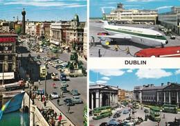 Postcard Dublin Multiview [ John Hinde ]  My Ref  B23197 - Dublin
