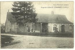 THUREY Propriété CHAUX. Ed Fafournoux (6 Personnages Sous L'anvent) - Sonstige Gemeinden