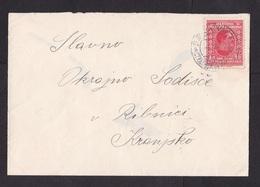 Yugoslavia: Cover, 1939, 1 Stamp, Cancel Maribor (minor Discolouring) - Brieven En Documenten
