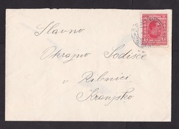 Yugoslavia: Cover, 1939, 1 Stamp, Cancel Maribor (minor Discolouring) - 1931-1941 Koninkrijk Joegoslavië