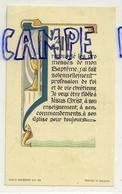 Image Pieuse. Souvenir De Confirmation Seneffe 1970. Imalit Maredret. Meuter 6/10,5 Cm - Images Religieuses