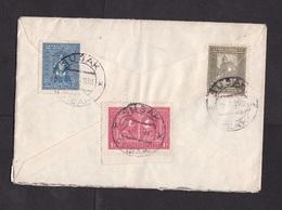 Yugoslavia: Registered Cover To France, 1930?, 5 Stamps, Various Issues, R-label Susak (traces Of Use) - 1931-1941 Koninkrijk Joegoslavië