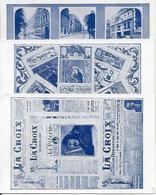 """3 Cpa """"maison De La Bonne Presse"""" Rue Bayard, Journaux : La Croix, ... - District 08"""