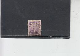 BRASILE 1906-15 - Yvert  129° -  Serie Corrente - Constant - Brasile
