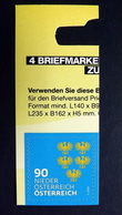 Österreich 3410 **/mnh, Dauerserie 2018: Wappen Niederösterreich - 1945-.... 2ª República