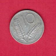 ITALY   10 LIRE 1955  (KM # 93) #5192 - 1946-… : Republic
