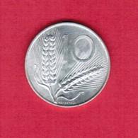 ITALY   10 LIRE 1952  (KM # 93) #5193 - 1946-… : Republic