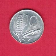 ITALY   10 LIRE 1956  (KM # 93) #5194 - 1946-… : Republic