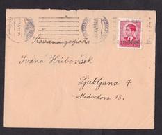Yugoslavia: Cover, 1941, 1 Stamp (minor Damage, See Scan) - 1931-1941 Koninkrijk Joegoslavië