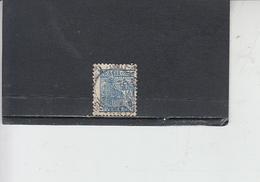 BRASILE 1947-55 - Yvert  467° -  Serie Corrente - - Brasile