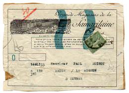 France Semeuse Lignée N° 234 Y. Et T. Paris - Postmark Collection (Covers)