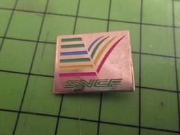 510A Pin's Pins /  Belle Qualité Et Rare / THEME TRANSPORTS : SNCF UN ARC-EN-CIEL De Pannes Et De Retard ..... - Transport