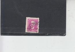 BRASILE 1954-56 - Yvert  584B° -  Serie Corrente - - Brasile