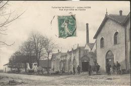 CPA Navilly - Tuileries De Navilly - Jules Jacob - Vue D'un Côté De L'Usine - Circulée 1915 - Sonstige Gemeinden