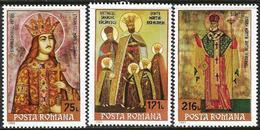 Romania 1993 Scott 3852-3854 MNH Icons - 1948-.... Republics