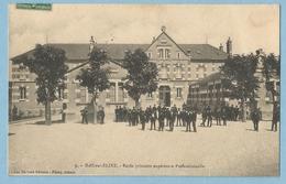 1612  CPA   BAR-sur-SEINE  (Aube)  Ecole Primaire Supérieure Professionnelle   ++++++ - Bar-sur-Seine