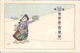 """Zane  """" Alsacienne Et Lorraine à La Frontiére """" - Künstlerkarten"""