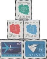 Polen 1108-1110,1115,1119 (completa Edizione) MNH 1959 People's Republic Of Polonia, Lotto, Pace - 1944-.... Republik