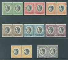 SOUTH WEST AFRICA  - MNH/**. - 1937 - CORONATION - Yv 140-155 -  Lot 18424 - Afrique Du Sud-Ouest (1923-1990)