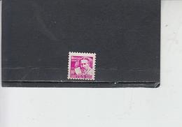 BRASILE 1961 - Yvert  711A° - Medicina - Lotta Alla Lebbra - Brasile