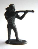 Rare FIGURINE KINDER  METAL INDIEN 2 70's - U-EI Indianer (2) - Figurines En Métal