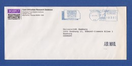 Umschlag Cover - Kansas State University, MANHATTEN, KANSAS 1991 - Marcofilie