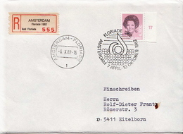 Postal History Cover: Netherlands R Cover From Floriade 1982 - Plants