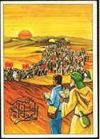 Marocco/Maroc: Intero, Stationery, Entier, Marcia Verde, Green March, Vert Mars - Storia