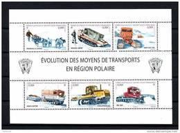 TAAF 2010  N° 560/565 ** Neufs MNH  Superbe Cote 21 € Evolution Des Moyens De Transports En Région Polaire - Ongebruikt