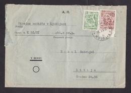 Yugoslavia: Cover, 1957, 2 Stamps, Labour (damaged, See Scan) - 1945-1992 Socialistische Federale Republiek Joegoslavië