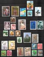 Japan, Lot Of 28 Used Stamps - Giappone, - 1989-... Imperatore Akihito (Periodo Heisei)